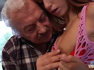 Mature man and girl porn clips