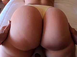 Thick Arsch Pawg Reverse Cowgirl